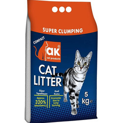 Akkum - Akkum Doğal İnce Taneli Lavantalı Kedi Kumu 5 Kg