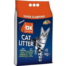 Akkum - Akkum Doğal Kalın Taneli Marsilya Kedi Kumu 10 Kg