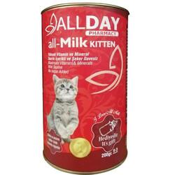 Allday - Allday all - Milk Kitten Yavru Kedi Süt Tozu 200 Gr + Biberon