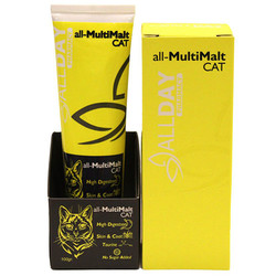 Allday - Allday All-MultiMalt Multivitamin Kedi Macunu 100 Gr