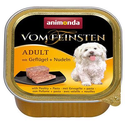 Animonda 82614 Vom Feinsten Kümes Hayvanı Makarna Köpek Yaş Maması 150 Gr