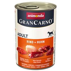 Animonda - Animonda 82732 Gran Carno Sığır ve Tavuk Etli Köpek Konservesi 400 Gr