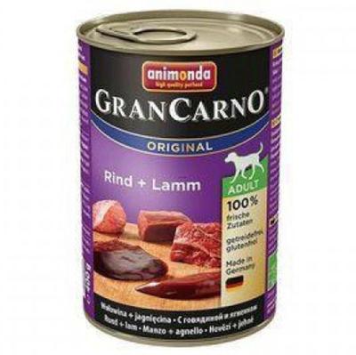Animonda 82733 Gran Carno Sığır ve Kuzu Etli Köpek Konservesi 400 Gr