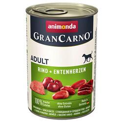 Animonda - Animonda 82746 Gran Carno Sığır Eti ve Ördek Köpek Konservesi 400 Gr