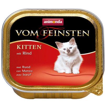 Animonda 83220 Vom Feinsten Kitten Sığır Etli Kedi Maması 100 Gr