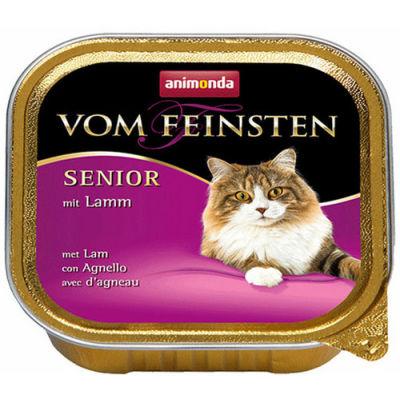 Animonda 83237 Vom Feinsten Senior Kuzu Etli Yaşlı Kedi Maması 100 Gr