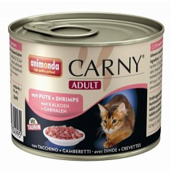 Animonda - Animonda 83499 Carny Hindi ve Karides Kedi Konservesi 200 Gr