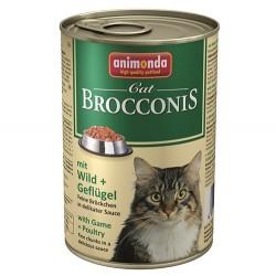 Animonda - Animonda 83378 Brocconis Av Hayvanlı ve Kümes Hayvanlı Kedi Konservesi 400 Gr