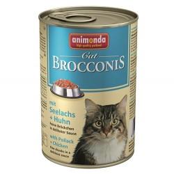 Animonda - Animonda 83379 Brocconis Balıklı ve Tavuk Etli Kedi Konservesi 400 Gr