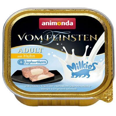 Animonda Milkies 83113 Vom Feinsten Tavuk Etli ve Yoğurt Kedi Yaş Maması 100 Gr