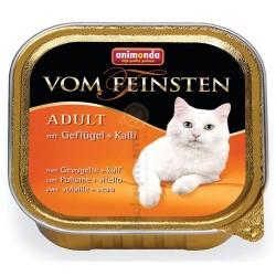 Animonda - Animonda 83210 Vom Feinsten Kümes Hayvanlı ve Makarnalı Kedi Maması 100 Gr