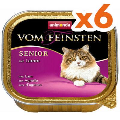 Animonda Vom Feinsten Senior Kuzu Etli Yaşlı Kedi Maması 100 Gr - 6 Adet x 100 Gr