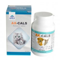 Apex - Apex Ax-Cals Kedi ve Köpek Kalsiyum Tablet 100 Tablet