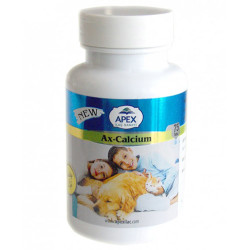 Apex - Apex Ax-Calcium Kedi ve Köpek Kalsiyum Tablet 75 Tablet