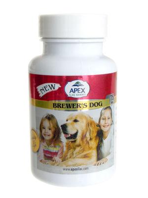Apex Brewers Sarımsaklı Maya Köpek Tableti (75 Tablet)