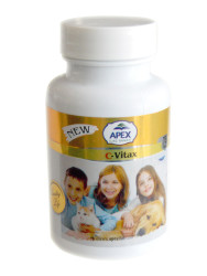 Apex - Apex C-Vitax Kedi ve Köpek C Vitamini 75 Tablet
