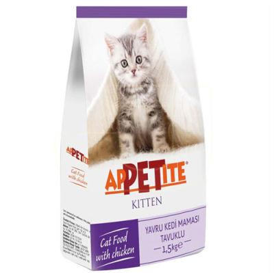 Appetite Kitten Tavuk Etli Yavru Kedi Maması 1,5 Kg