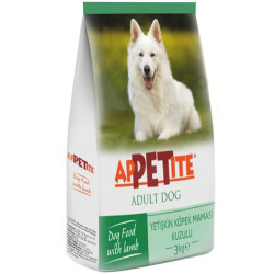Appetite - Appetite Lamb Kuzu Etli Yetişkin Köpek Maması 3 Kg
