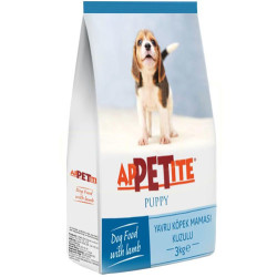 Appetite - Appetite Puppy Kuzu Etli Yavru Köpek Maması 3 Kg