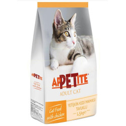 Appetite - Appetite Tavuk Etli Yetişkin Kedi Maması 1,5 Kg