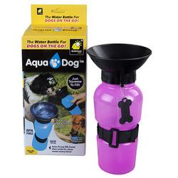 Diğer / Other - Aqua Dog 771-0118 İçirme Hazneli Seyehat Suluğu 18 Oz