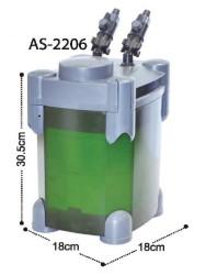 Diğer / Other - Astro AS-2206 Akvaryum Dış Filtre 600 L/H