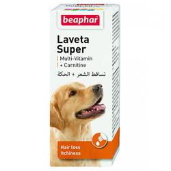 Beaphar - Beaphar 011429 Laveta Carnitine Deri ve Tüy Sağlığı Köpek Vitamini 50 ML