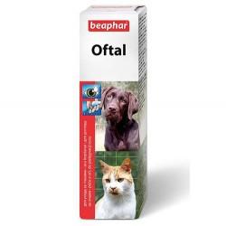 Beaphar - Beaphar 012487 Oftal Kedi ve Köpek Göz Temizleme Losyonu 50 ML