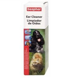 Beaphar - Beaphar 012609 Ear Cleaner Kedi ve Köpek Kulak Temizleme Losyonu 50 ML