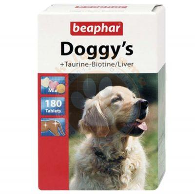 Beaphar 012775 Doggys Mix Biotin Taurin Köpek Vitamini 180 Tablet