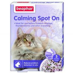 Beaphar - Beaphar 013901 Calming Spot On Kedi Sakinleştirici 3 Kapsül x 0,4 ML