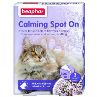 Beaphar 013901 Calming Spot On Kedi Sakinleştirici 3 Kapsül x 0,4 ML