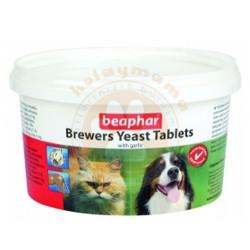 Beaphar - Beaphar Brewers Kedi ve Köpek Tüy Dökülme Önleyici Tablet (250 Tablet)