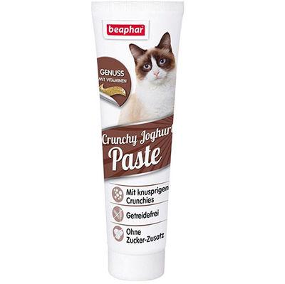 Beaphar Cruncy Kıtır Yoğurtlu Tahılsız Kedi Macunu 100 Gr