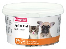 Beaphar - Beaphar Junior Cal Yavru Köpek ve Kediler İçin Vitamin 200 Gr