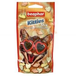 Beaphar - Beaphar Kitties Mix Yavru Kedi Ödül Tableti 32,5 Gr