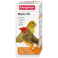 Beaphar - Beaphar Multi - Vit Tüy Sağlığı Kuş Vitamini 20 ML
