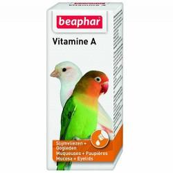 Beaphar - Beaphar Vitamin A Kuşlar İçin Sıvı Ek Besin Takviyesi 20 ML