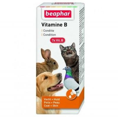 Beaphar Vitamin B Kedi Köpek Kuş ve Kemirgen Vitamin Takviyesi 50 ML