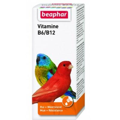 Beaphar Vitamine B6 / B12 Tüy Sağlığı Kuş Vitamini 50 ML