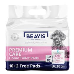 Beavis - Beavis Premium Care Köpek Tuvalet Eğitim Pedi 60 x 90 Cm ( 12'li Paket )