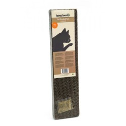 Beeztees - Beeztees 405215 Catnip(Kedi Otlu) Karton Kedi Tırmalama 50x12,5 Cm