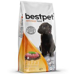 Bestpet - Bespet Puppy Biftek ve Kuzu Etli Yavru Köpek Maması 15 Kg