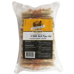 Diğer / Other - Best Friend Chicken Tavuk Eti Burgulu Sticks Köpek Ödülü (60Lı Paket)