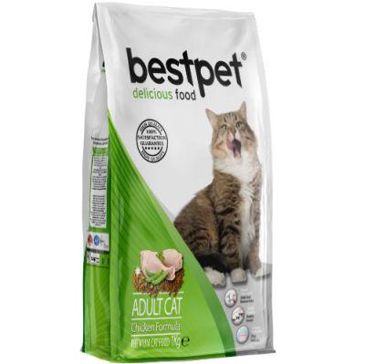 Bestpet Chicken Tavuk Etli Yetişkin Kedi Maması 1 Kg