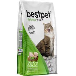 Bestpet - Bestpet Delicious Chicken Tavuk Etli Yetişkin Kedi Maması 400 Gr