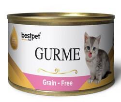 Bestpet - Bestpet Gold Gurme Kitten Tahılsız Tavuklu Yavru Kedi Konservesi 100 Gr