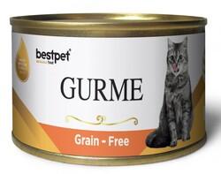 Bestpet - Bestpet Gold Gurme Salmon Tahılsız Somonlu Kedi Konservesi 100 Gr