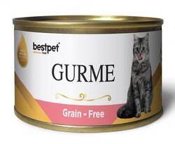Bestpet - Bestpet Gold Gurme Sterilised Salmon Tahılsız Somonlu Kısır Kedi Konservesi 100 Gr