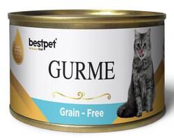 Bestpet - Bestpet Gold Gurme Tuna Tahılsız Ton Balıklı Kedi Konservesi 100 Gr